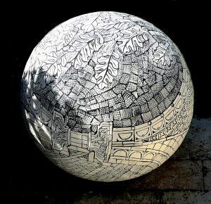 Kemptown Sphere by Marion Brandis