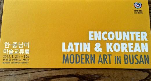 Encounters Korean and Latin American
