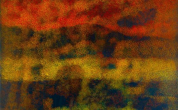 Los colores entre los árboles